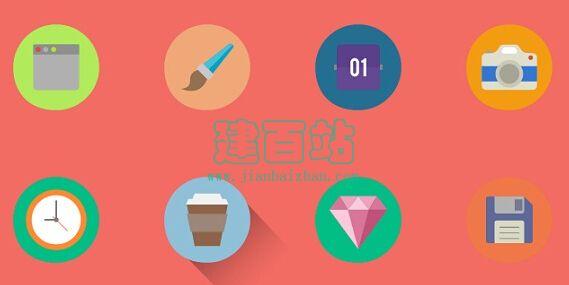 150多个纯CSS3动画SVG图标