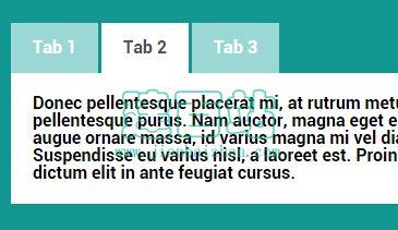 jQuery Tabs插件 PWS Tabs