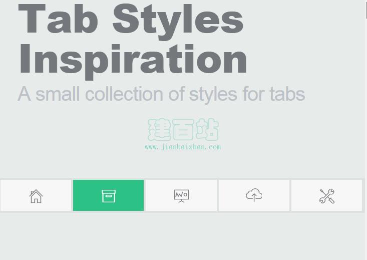 tabs切换效果插件