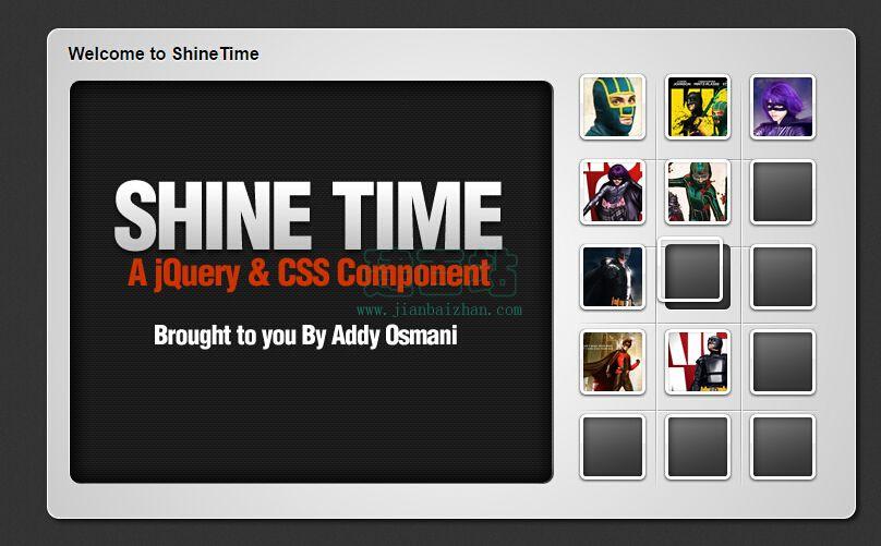 ShineTime - 闪亮的缩略图相册
